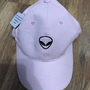 Accessories - Pink alien hat